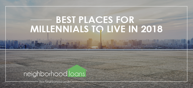 best places for millennials to live in 2018